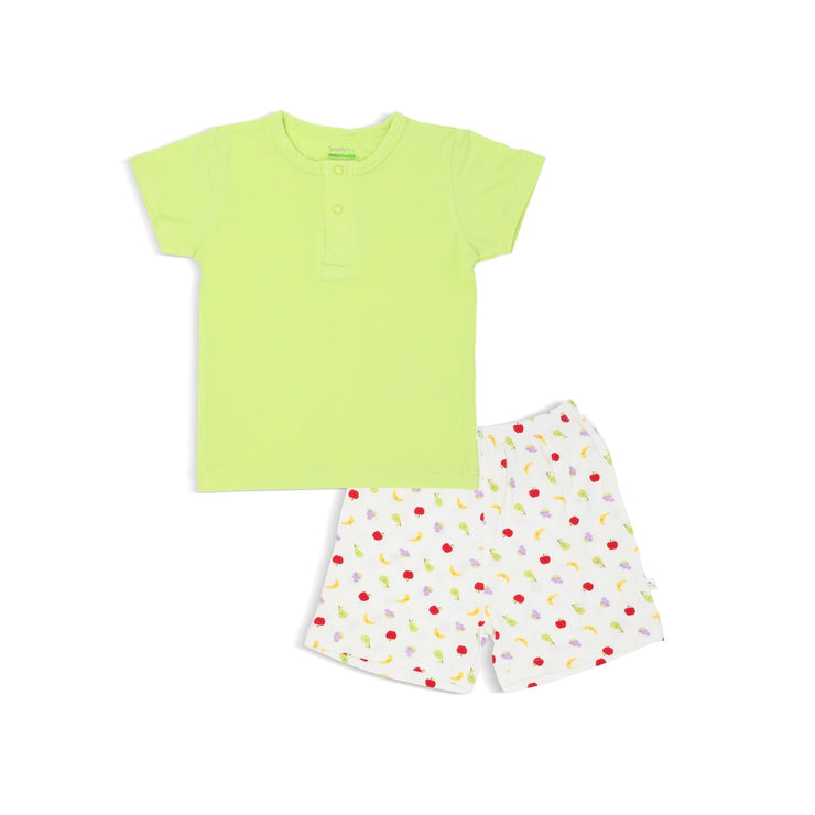 Fruits - Shorts & Tee Set by simplylifebaby
