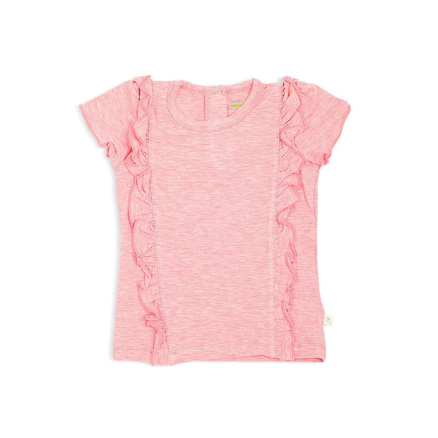Girls' Frilled Tee by simplylifebaby
