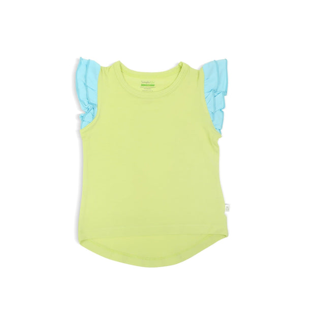 Girls' Frilled Tee - Simply Life