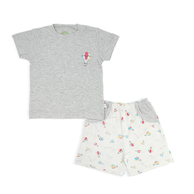 Hot Air Balloon - Boys' Shorts & Tee Set - Simply Life