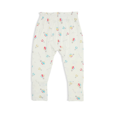 Hot Air Balloon - Long Pants with Folded Footies by simplylifebaby