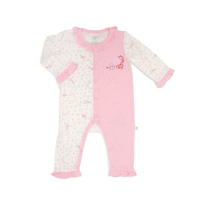 Joy Ride - Long-sleeved Button Sleepsuit with Frills by simplylifebaby