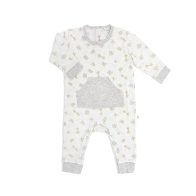 Jungle - Long-sleeved Sleepsuit with Front Pocket - Simply Life