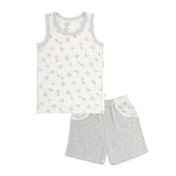 Jungle - Shorts & Singlet Set - Simply Life
