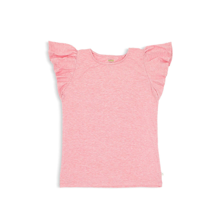 Ladies Frilled Tee - Simply Life
