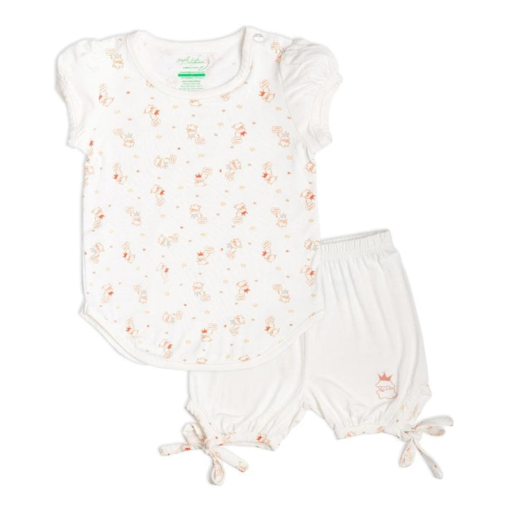 Lamb - Set with Shorts by simplylifebaby