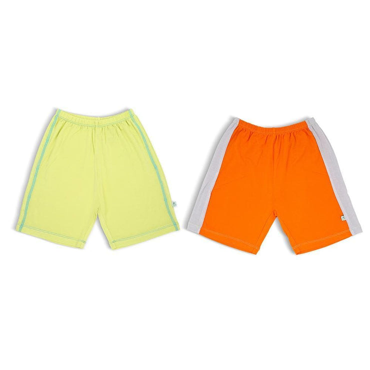 Lime & Orange/Grey - Bermuda (2-Pack Set) by simplylifebaby