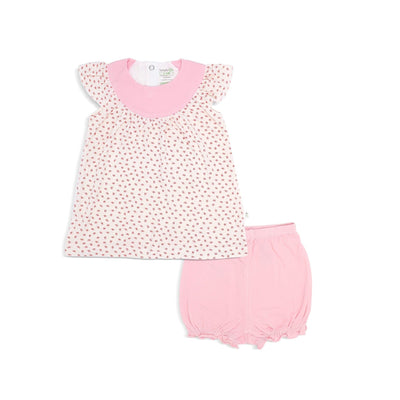 Lovely Butterflies - Blouse with Cap-sleeves & Bloomer Shorts (2-pc Set) by simplylifebaby