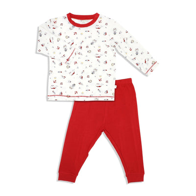 Marine - Long-sleeve Pyjamas Set - Simply Life