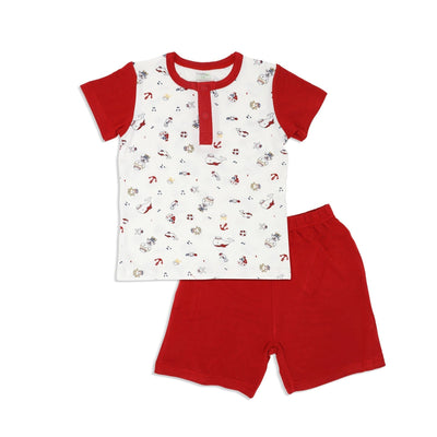 Marine - Shorts & Tee Kids Set - Simply Life