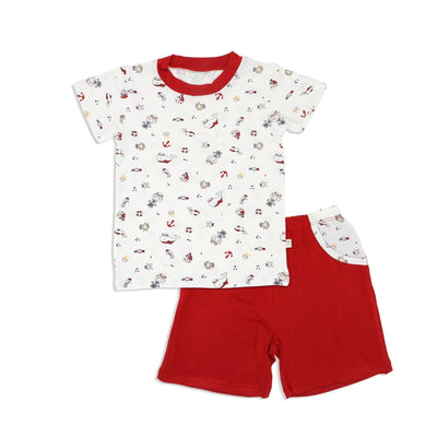 Marine - Shorts & Tee Set - Simply Life