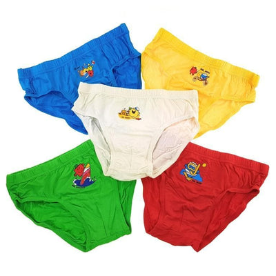 Mr Men and Little Miss - Boys Briefs (5-Pack Set) by simplylifebaby
