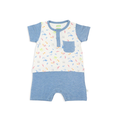 Musical - Shortall (Mock Shorts & Tee Set) by simplylifebaby