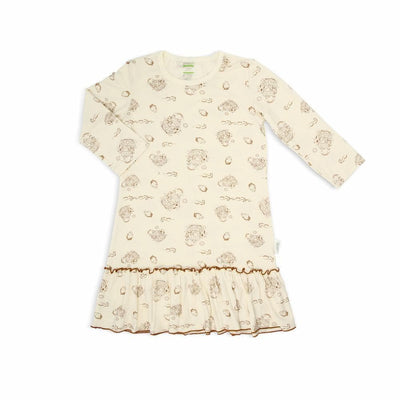 Noah's Ark -  Nightie (Long Sleeves with Bottom Ruffles) by simplylifebaby