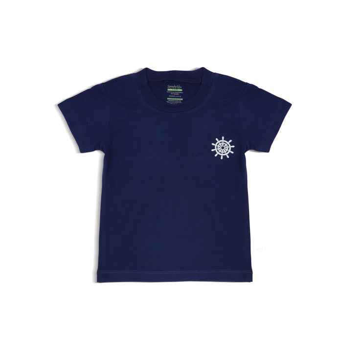 Ocean - Boys' Basic Tee by simplylifebaby