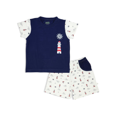 Ocean - Shorts & Tee Set by simplylifebaby