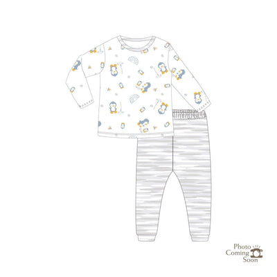 Penguins - Long-sleeve Pyjamas Set - Simply Life