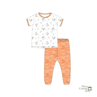 Penguins - Short-sleeve Pyjamas Set - Simply Life