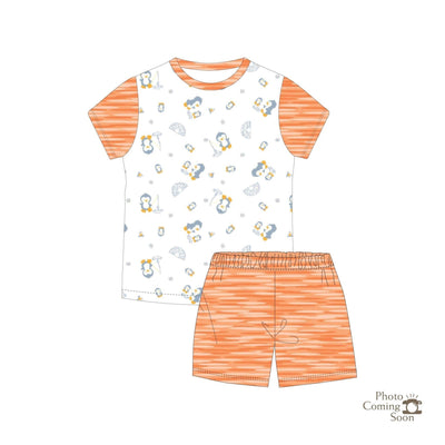 Penguins - Shorts & Tee Set - Simply Life
