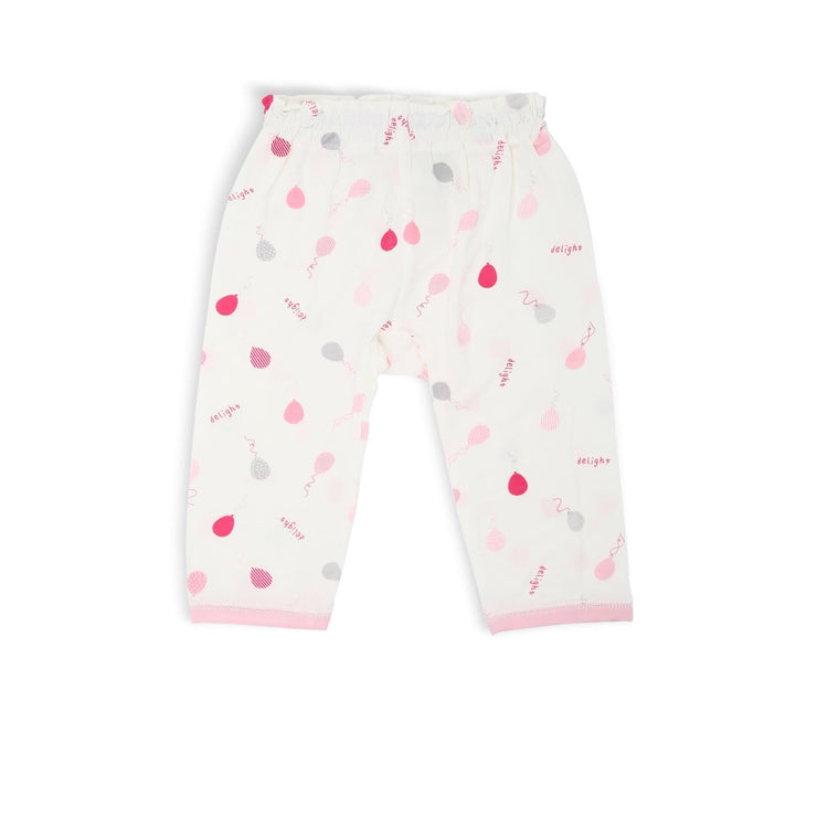 Pink Delight Balloons - Long Pants by simplylifebaby