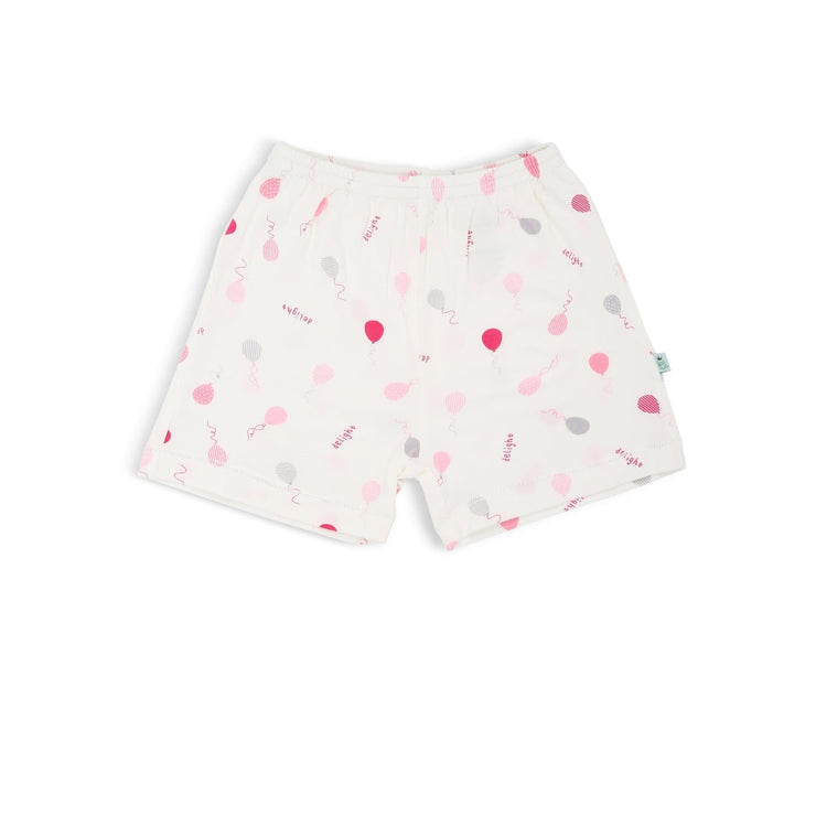Pink Delight Balloons - Shorts by simplylifebaby