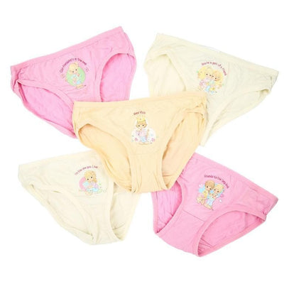 Precious Moments - Girls Innerwear (5-Pack Set) by simplylifebaby