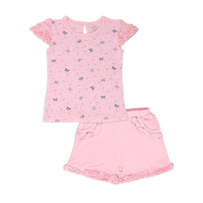 Ribbons - Short-sleeved tee & shorts set - Simply Life
