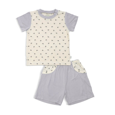 Royale - Shorts & Tee Set (Spot Print) - Simply Life