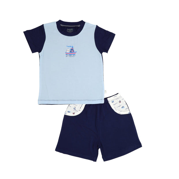 Sailing - Shorts & Tee Set by simplylifebaby