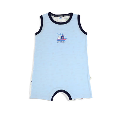 Sailing - Sleeveless Shortall by simplylifebaby