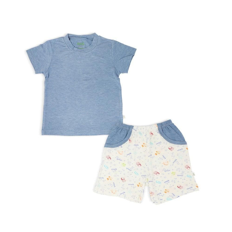 Sea Creatures -  Boys Shorts & Tee Set by simplylifebaby