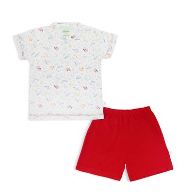 Sea Creatures - Shorts & Tee Set by simplylifebaby