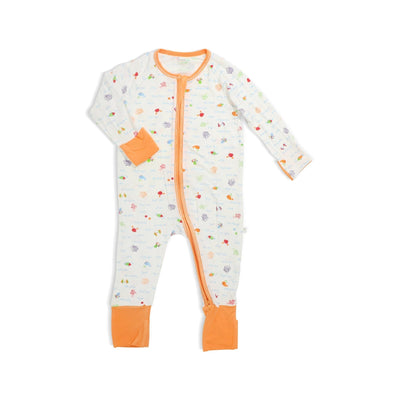 Sea World - Long-sleeved Zipper Sleepsuit by simplylifebaby