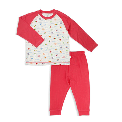 Sea World - Pyjamas Set with Raglan Sleeves by simplylifebaby