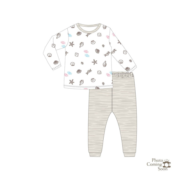 Seashells - Long-sleeve Pyjamas Set - Simply Life