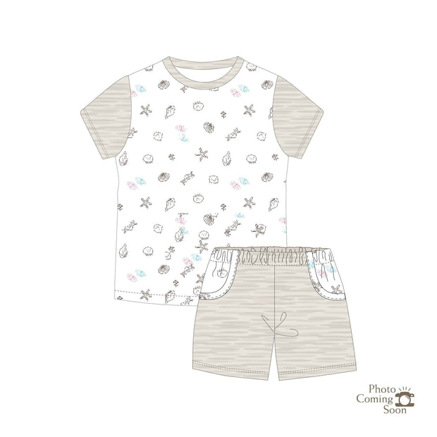 Seashells - Shorts & Tee Set - Simply Life