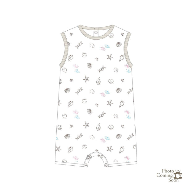 Seashells - Sleeveless Shortall - Simply Life