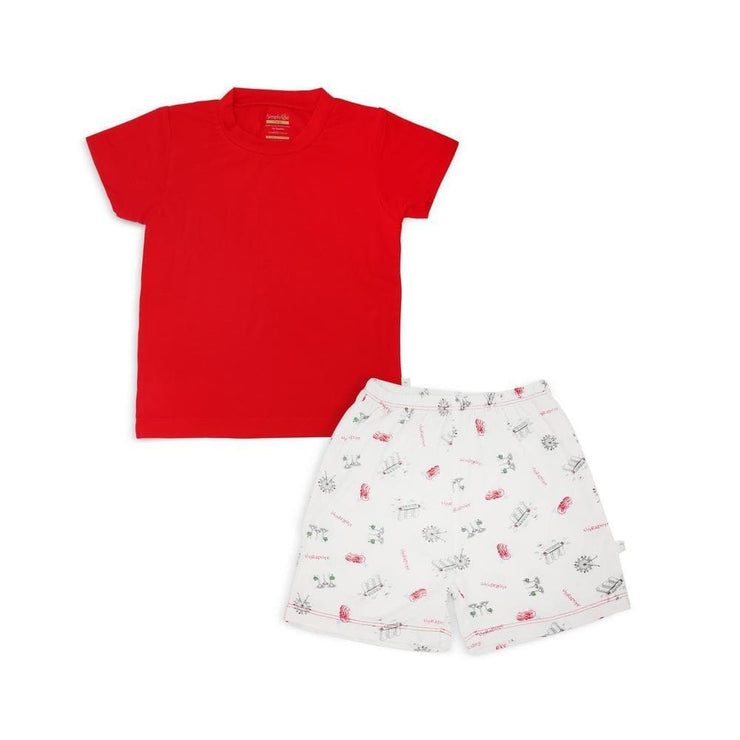 Singapore Special - Shorts & Tee Set by simplylifebaby