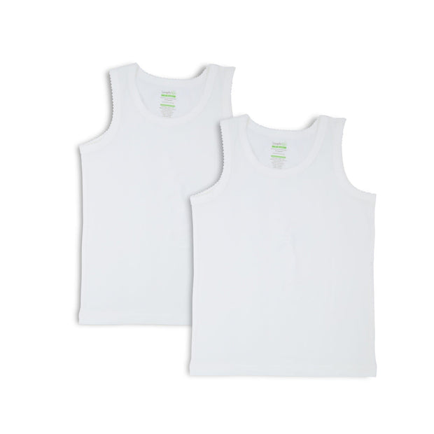 Singlet with Zig-Zag (2-Pack Set) by simplylifebaby