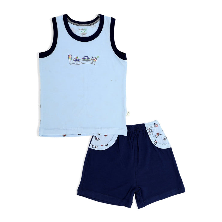 Traffic - Shorts & Singlet Set - Simply Life