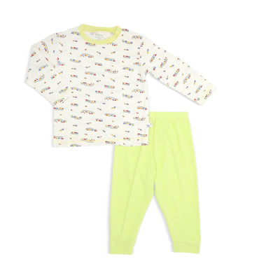 Train - Pyjamas Set by simplylifebaby