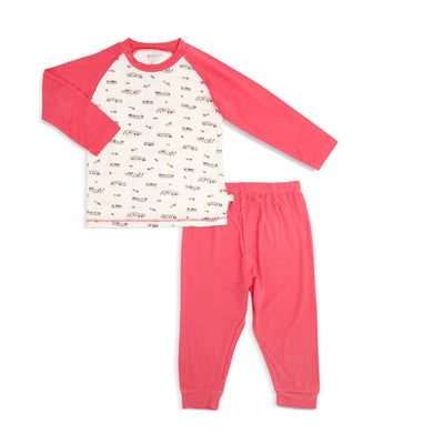 Train - Pyjamas Set with Raglan Sleeves by simplylifebaby