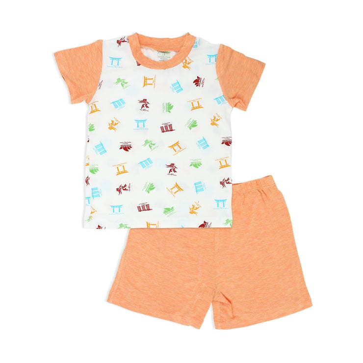 Travel - Shorts & Tee Set - Simply Life