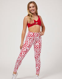 Child London Legging in Hearts - front view