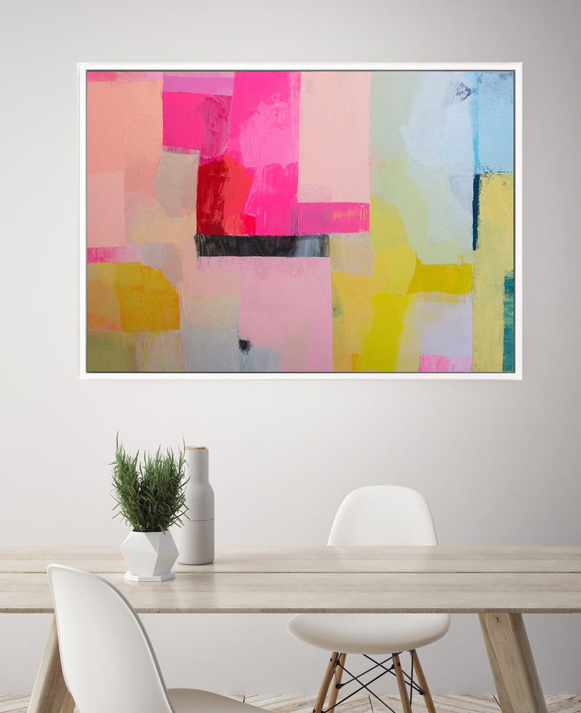 New Jessica Ford Abstract Paintings