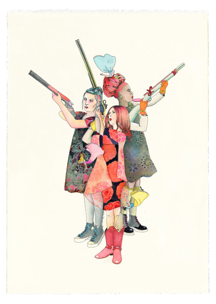 New Delphine Lebourgeois Original Drawings