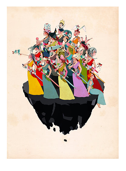 Delphine Lebourgeois Prints at Gas Gallery London