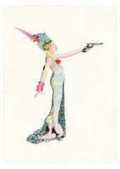Gas Gallery Delphine Lebourgeois drawings
