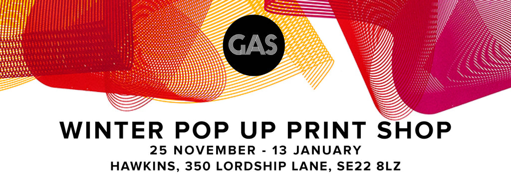 Gas Gallery Pop Up Print shop
