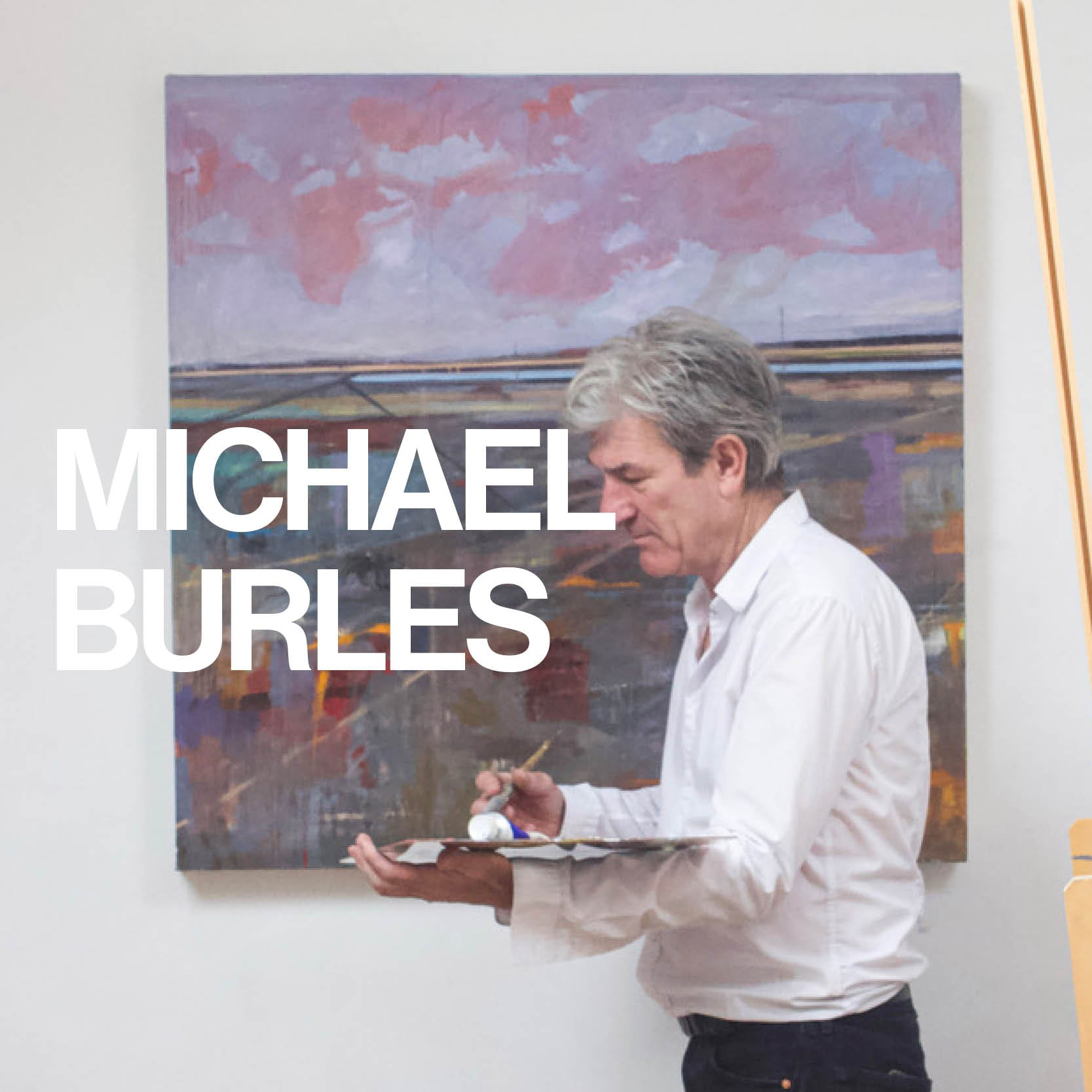 Michael Burles Interview at Gas Gallery